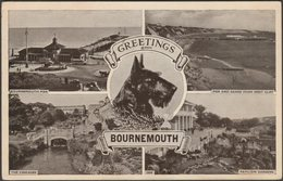 Multiview, Bournemouth, Hampshire, 1952 - Postcard - Bournemouth (until 1972)