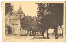 LE GRAVIER  (cpa 18)  L'Eglise  -  L 1 - France