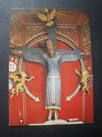 CPM ITALIE - LUCCA -  SCULPTURE LE SAINT VISAGE - Timbre Canoë - Jesus