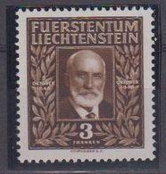 Liechtenstein 1940 Geburtstag Fürst Johann II 1v ** Mnh (41683F) - Liechtenstein
