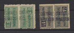 ALGERIE. YT  Colis Postaux  N° 10b Et 14b  (tête Bêche) Neuf * 1927 - Algérie (1924-1962)