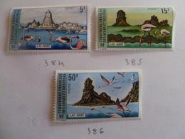Afars & Issas N° 384 à 386 Neuf - Unused Stamps