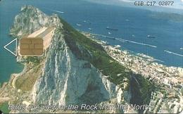 Gibraltar: GNC - The Rock, Birds Eye-view From The North - Gibraltar
