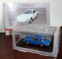 Voiture Porsche 901 (1964) 1/43 - Editions Atlas - Voitures, Camions, Bus