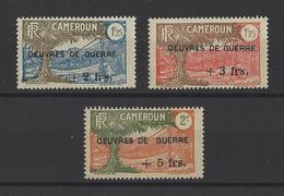 CAMEROUN. YT   N° 233/235  Neuf **  1940 - Ungebraucht