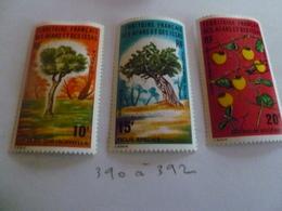 Afars & Issas N° 390 à 392 Neuf - Unused Stamps