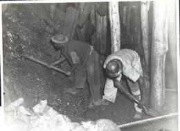 """Photo Du Service De L'info Et Propagande Du Congo Belge """" Union Minière De Kipushi """" 12 X 10 Cm - Belgisch-Kongo - Sonstige"""
