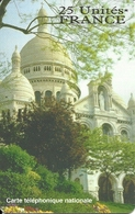 France: Prepaid A Telecom - Paris, Sacre Coeur - Frankreich
