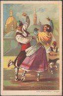 Jota Aragonesa, Aragón, C.1950 - Pablo Dümmatxen Tarjeta Postal - Spain