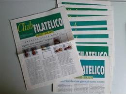 Alt1072 Inserti Club Filatelico Bolaffi Torino Collezionismo Filatelia Supplementi Novità Francobolli Italia Mondo - Magazines: Subscriptions