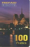 France: Prepaid Eurotel - Paris, Notre Dame - Frankreich