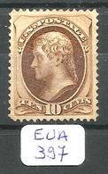 EUA Scott 161 YT 55 Extremely Fine (x) No Gum - Unused Stamps