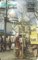 France: Prepaid Intercall - Paris, Montmartre - Frankreich