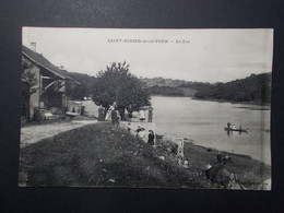 Carte Postale - St DIDIER DE LA TOUR (38) - Le Lac - (2561) - Francia