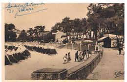 CPA ST PALAIS Promenade Plage - Frankreich