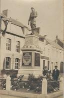 BLATON : RARE CARTE PHOTO - Monument Aux Morts - Bernissart