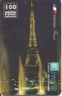 France: Prepaid Intercall - Paris, Tour Eifel By Night - Frankreich
