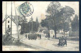 Cpa Du 89 Auxerre Promenade De La Tournelle Retour De Marche Militaire    YN50 - Auxerre