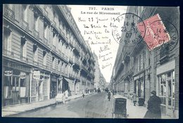 Cpa Du 75 Paris 8è La Rue De Miromesnil    YN50 - Distretto: 08
