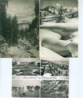 Lot De 200 CPM Toutes En Noir Et Blanc (voir Description) - Cartes Postales