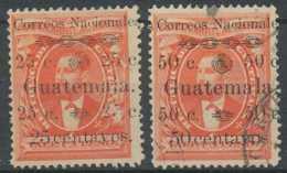 NB - [301565]GUATEMALA - N° 27/28, Timbres De Chemin De Fer - Guatemala
