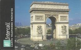 France: Prepaid Intercall - Paris, L'Arcde Triomphe - Frankreich