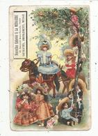 Cp , Publicité , Nouvelles Galeries à La Ménagére , Paris , LES BEBES JUMEAU à L'exposition De 1900 , Dos Simple Vierge - Advertising