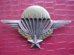 Brevet Parachutiste Matriculé ( Algérie 1957 ) . Drago Olivier Métra - Armée De Terre