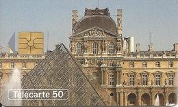 France: France Telecom - Paris, Louvre Museum, Pyramide De La Cour Napoléon - Frankreich