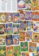 {61860} Pokémon Dunkin Boomer , Lot 42 Stickers (c) - Stickers