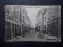Carte Postale - GRAND LEMPS (38) - Grande Rue - (2565) - Autres Communes