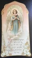 """Antico Santino Holy Card """" PRIMA COMUNIONE """" 962 Ed. Bouasse Jeune Paris - Religion & Esotérisme"""