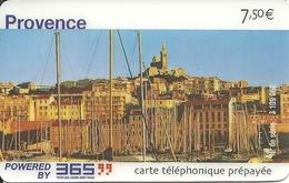 France: Prepaid 365 - Provence, Marseille - Frankreich
