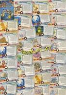 {61887} Pokémon Topps Trading Cards Lot 50 Cartes - Pokemon