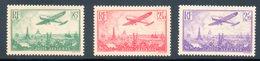 France / PA N° 8 - 10 Et 11 Neufs * - Airmail