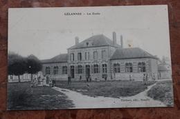 GELANNES (10) - LES ECOLES - Other Municipalities