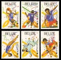 Belize 1988 - Mi-Nr. 1003-1008 ** - MNH - Olympia Seoul - Belize (1973-...)