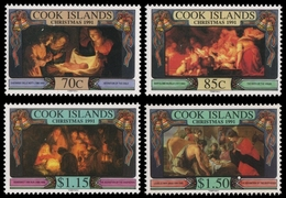 Cook-Inseln 1991 - Mi-Nr. 1324-1327 ** - MNH - Weihnachten / X-mas - Cook