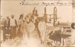 Syria - Other / 62 - Carte Photo - Prisonniers Druzes Au Triage De L'eau - Syria