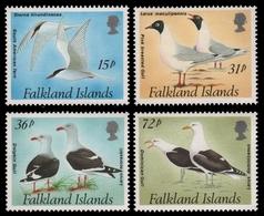 Falkland 1993 - Mi-Nr. 575-578 ** - MNH - Vögel / Birds - Falklandinseln