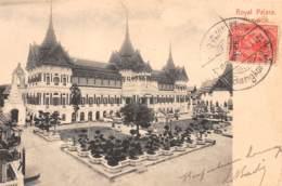 Thaïlande / 01 - Royal Palace - Bangkok - Belle Oblitération - Défaut - Se Décolle - Thaïlande