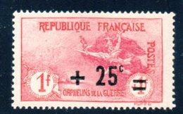 France / Orphelins N° 168 * - France