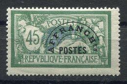 RC 11268 FRANCE PRÉO N° 44 - 45c MERSON COTE 105€ NEUF ** MNH TB - 1893-1947