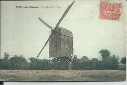 MARNE - WITRY LES REIMS - LE MOULIN A VENT - France
