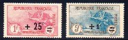 France / Orphelins N° 168 Et 169 Neufs * - France