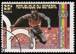 SENEGAL - Scott #433E Montréal '76 Olympic Games, Steeplechase / Used Stamp - Summer 1976: Montreal