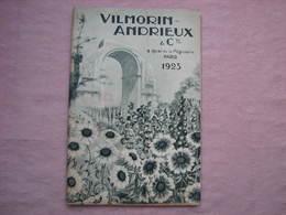 Vilmorin Andrieu 1923 Beau Catalogue Avec Dessins 152 Pages 175X270 + Divers Documents. B.E. - 2. Graines