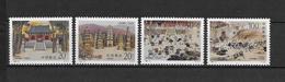 LOTE 1818  ///  (C065)  CHINA 1995  **MNH  1500 ANIVERSARIO DEL TEMPLO DE SHAOLIN - 1949 - ... República Popular