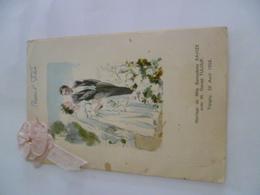 89- YONNE- TREIGNY- Menu Mariage 1958 - Menus