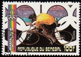 SENEGAL - Scott #433J Montréal '76 Olympic Games, Cycling / Used Stamp - Summer 1976: Montreal